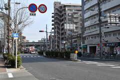 大阪市営地下鉄四つ橋線・玉出駅前の様子2。(2018-01-29,共用部,ENVIRONMENT,1F)