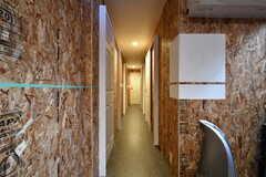 廊下の様子。突き当たりはトイレです。(2018-02-14,共用部,OTHER,1F)