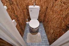 ウォシュレット付きトイレの様子。(2018-02-14,共用部,TOILET,1F)