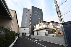 建物の外観。6〜8階がシェアハウスです。(2017-03-06,共用部,OUTLOOK,1F)