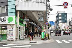 玉造駅前の商店街の様子。(2017-03-06,共用部,ENVIRONMENT,1F)