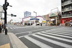 各線・今里駅前の様子。(2017-03-06,共用部,ENVIRONMENT,1F)