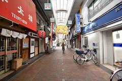 今里駅前の商店街の様子。(2017-03-06,共用部,ENVIRONMENT,1F)