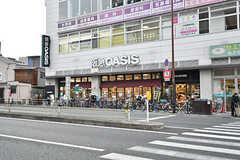 今里駅の隣はスーパーです。(2017-03-06,共用部,ENVIRONMENT,1F)