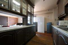 キッチンの様子2。(2013-09-18,共用部,KITCHEN,5F)