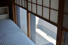 雪見障子。(509号室)(2013-09-18,専有部,ROOM,5F)