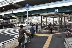 各線・緑橋駅の様子。(2016-04-06,共用部,ENVIRONMENT,1F)