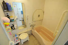 バスルームの様子。(2012-07-13,共用部,BATH,6F)