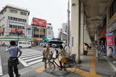 JR大阪環状線・野田駅前の様子2。(2012-07-13,共用部,ENVIRONMENT,1F)