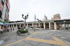 JR大阪環状線・野田駅前の様子3。(2012-07-13,共用部,ENVIRONMENT,1F)