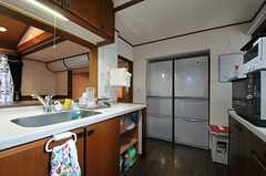 冷蔵庫は2台あります。(2014-03-06,共用部,KITCHEN,3F)