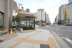 各線・谷町六丁目駅の様子。(2014-03-06,共用部,ENVIRONMENT,1F)
