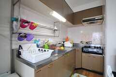 キッチンの様子。(2013-11-10,共用部,KITCHEN,8F)