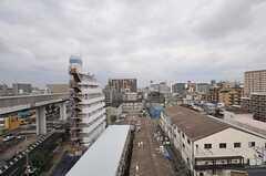 ベランダからの景色。(8012号室)(2013-11-10,専有部,ROOM,8F)