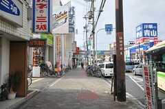 市営地下鉄谷町線・喜連瓜破駅前の様子。(2013-11-10,共用部,ENVIRONMENT,1F)