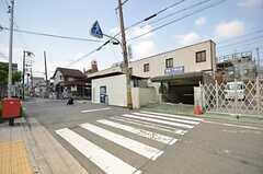 阪急千里線・下新庄駅の様子。(2014-07-01,共用部,ENVIRONMENT,1F)