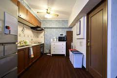キッチンの様子。(2017-12-11,共用部,KITCHEN,2F)