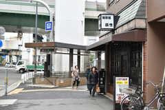 大阪市営地下鉄千日前線・阿波座駅前の様子2。(2017-12-11,共用部,ENVIRONMENT,1F)