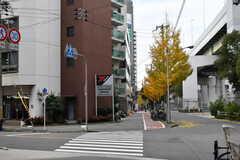 大阪市営地下鉄千日前線・阿波座駅周辺の様子。(2017-12-11,共用部,ENVIRONMENT,1F)
