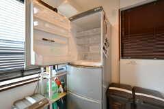 冷蔵庫の様子。(2017-08-29,共用部,KITCHEN,3F)