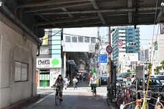 JR環状線・玉造駅前の様子2。(2017-08-29,共用部,ENVIRONMENT,1F)