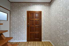専有部のドア。(101号室)(2017-10-25,専有部,ROOM,1F)