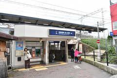 京阪線・森小路駅の様子。(2017-10-25,共用部,ENVIRONMENT,1F)