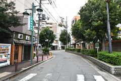 京阪線・森小路駅周辺の様子。(2017-10-25,共用部,ENVIRONMENT,1F)