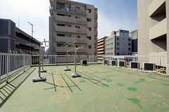 屋上の様子。(2013-03-15,共用部,OTHER,5F)
