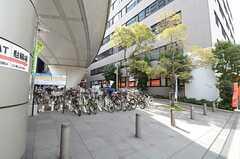 シェアハウスの近隣に、有料駐輪場があります。(2013-03-15,共用部,ENVIRONMENT,1F)