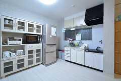 キッチンの様子。(2014-12-08,共用部,KITCHEN,1F)