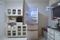 冷蔵庫の様子。(2014-12-08,共用部,KITCHEN,1F)