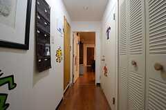 廊下の様子。(2015-06-15,共用部,OTHER,4F)
