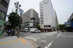 各線・阿波座駅前の様子。(2015-06-15,共用部,ENVIRONMENT,1F)