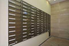 マンションのポストの様子。(2011-08-08,共用部,OTHER,1F)