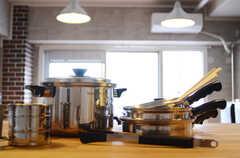 鍋類はアメリカ製のVitaCraftです。(クッキング)(2011-11-09,共用部,OTHER,12F)