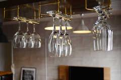ワイングラスはカウンターの上に。(クッキング)(2011-11-09,共用部,OTHER,12F)