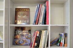 インテリアの本もあります。(ライブラリー)(2011-11-09,共用部,OTHER,13F)