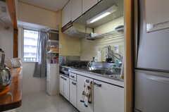 キッチンの様子。(クラフト)(2012-12-19,共用部,KITCHEN,8F)