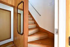階段の様子。(2017-04-04,共用部,OTHER,2F)