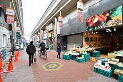 近くの空堀商店街の様子。(2017-04-04,共用部,ENVIRONMENT,1F)