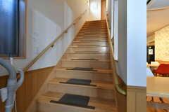 階段の様子。(2017-10-25,共用部,OTHER,1F)