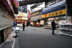 各線・鶴橋駅前の様子。(2019-01-16,共用部,ENVIRONMENT,1F)