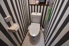 ウォシュレット付きトイレの様子。(2018-04-11,共用部,TOILET,1F)