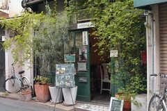 近所のカフェ。(2018-04-11,共用部,ENVIRONMENT,1F)