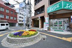 大阪メトロ谷町線・中崎町駅の様子。(2018-04-11,共用部,ENVIRONMENT,1F)