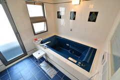 バスルームの様子。とても広い。(2018-10-08,共用部,BATH,4F)