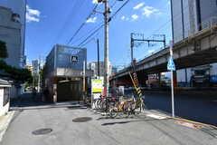 大阪市営地下鉄谷町線・中崎町駅の様子。(2018-10-08,共用部,ENVIRONMENT,1F)
