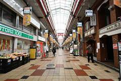 天神橋筋商店街の様子。(2017-04-04,共用部,ENVIRONMENT,1F)
