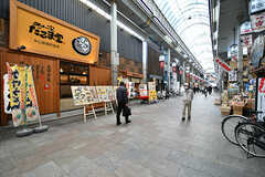 天神橋筋商店街の様子2。(2017-04-04,共用部,ENVIRONMENT,1F)